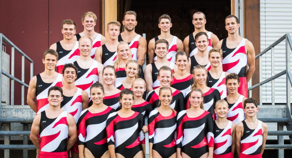 Sektion an den Schweizermeisterschaften 2015 in Yverdon les Bains